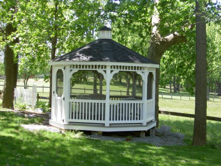 Custom Gazebo Plans, 10 ft Octagon, easy to follow detailed plan