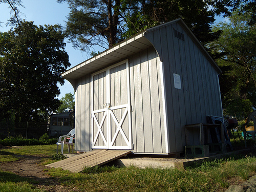 Custom Saltbox Shed Plans, 12 x 12 Shed, Detailed Building Plans