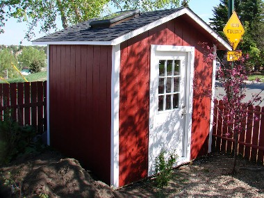 Custom Gable Shed Plans, 6 x 8 Shed, Detailed Building Plans