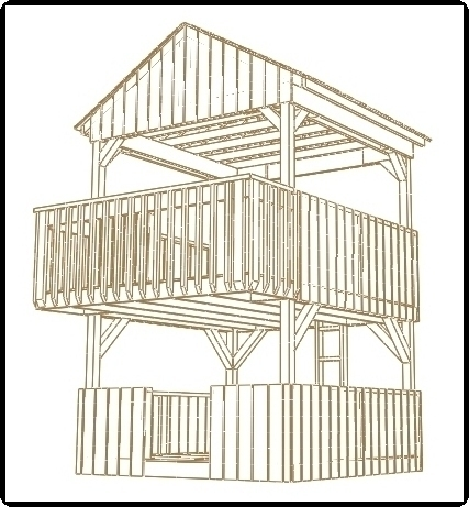 2 story playhouse plans