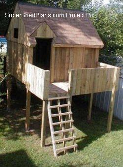 Customer picture gallery super shed plans the largest for Jungle gym plans