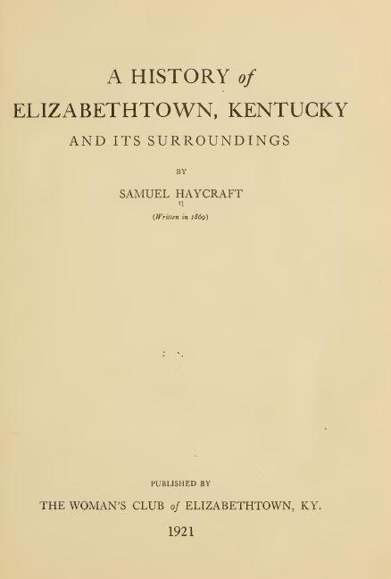 Kentucky Genealogy