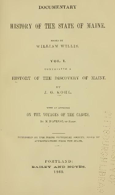 Maine Genealogy