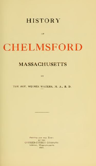 Massachusetts Genealogy