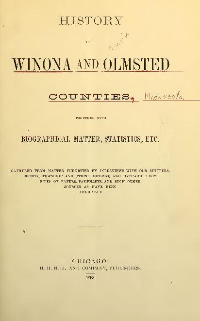Minnesota Genealogy