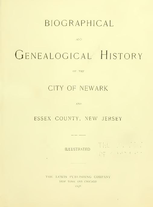 New Jersey Genealogy