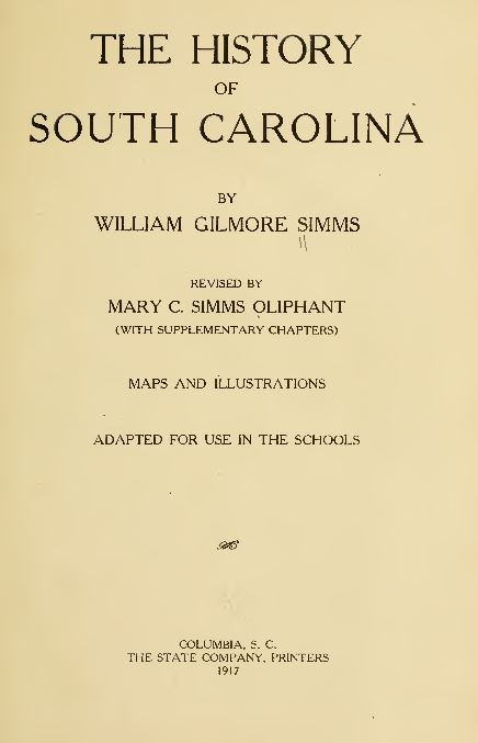 South Carolina History and Genealogy