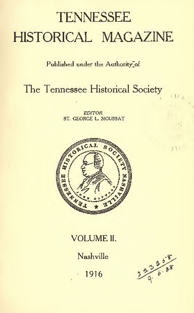 Tennessee History and Genealogy