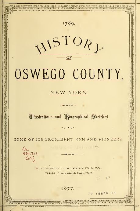 New York History and Genealogy