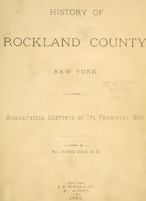 New York History and Genealogy