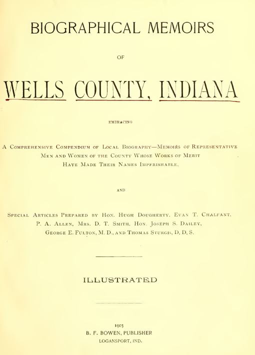 Indiana History and Genealogy
