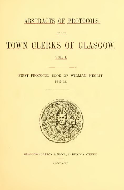 Scotland History and Genealogy