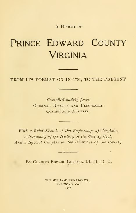 Virginia History and Genealogy