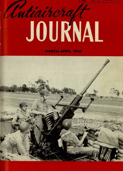 air defense artillery air trends anti-aircraft coast artillery magazines journals