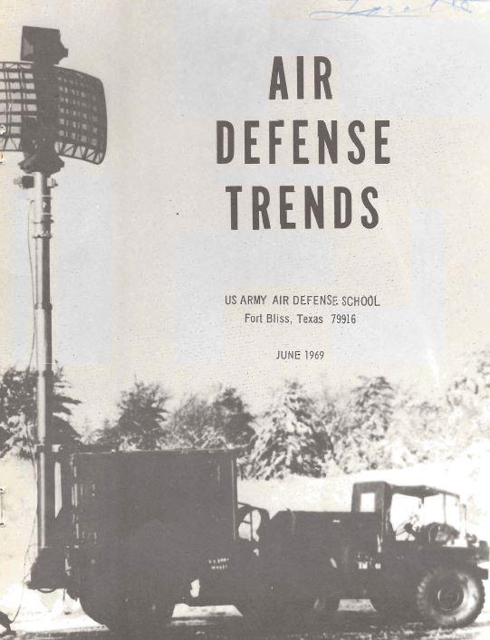 air defense artillery air trends anti-aircraft coast artillery magazines journals