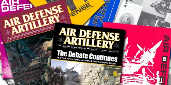 air defense artillery journal
