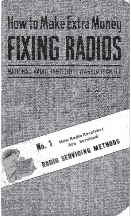 Radio Service Repair Home Study Course