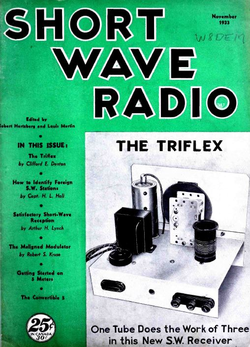 all wave radio short wave radio magazine