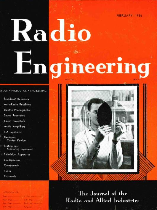 Radio Engineering Magazine