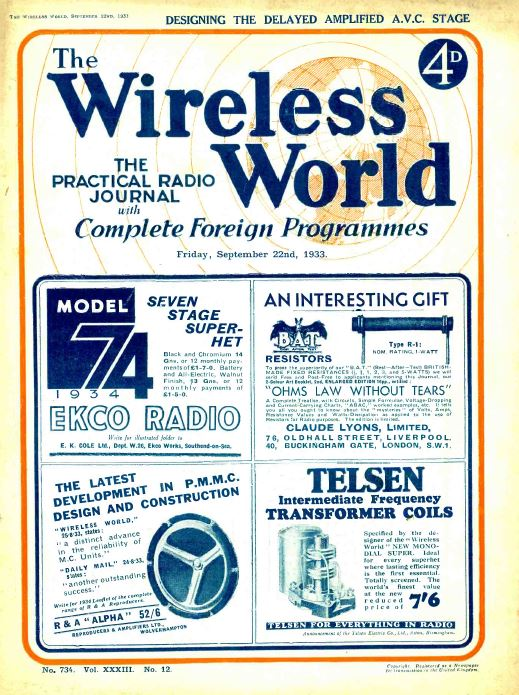 Wireless World Magazine