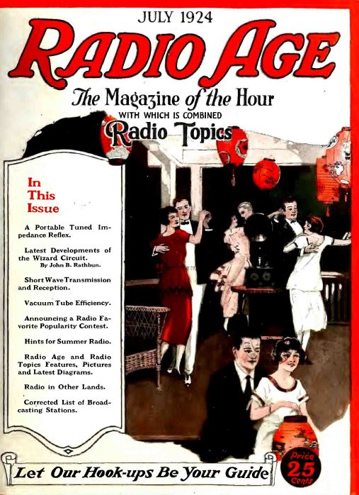 radio age magazine 63 vintage old time radio magazine collection pdf cd ca b90 the. Black Bedroom Furniture Sets. Home Design Ideas