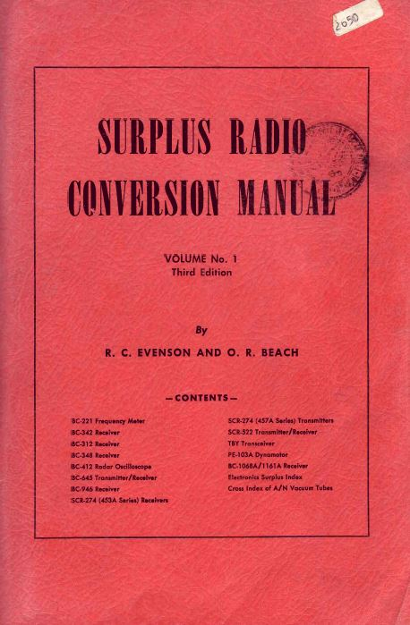 Surplus Radio Conversion Manuals