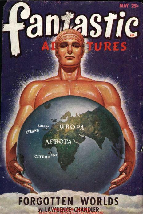 Fantastic Adventures Magazine