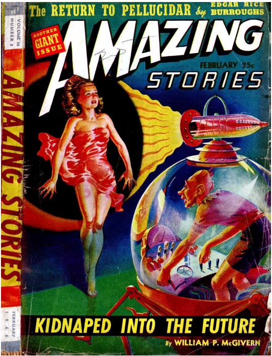 Amazing Stories Quarterly Magazine