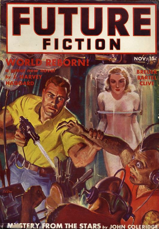 Future Science Fiction Super Pulp Fiction Magazine