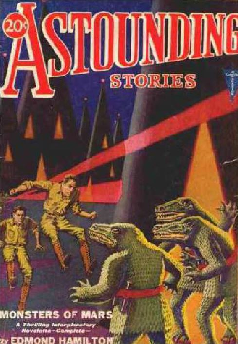 Astounding Stories Pulp Fiction Magazine
