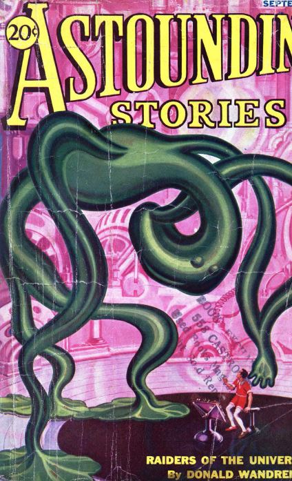 Astounding Stories Pulp Fiction Magazine