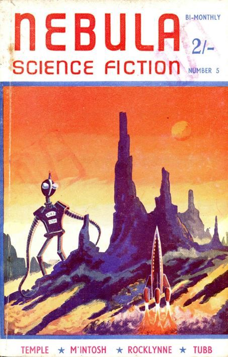 Nebula Science Fiction Pulp Fiction Magazine