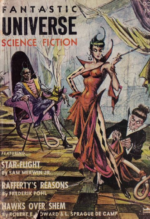 Fantastic Universe Pulp Fiction Magazine