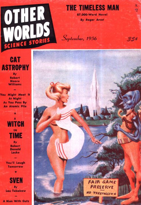 Other Worlds Pulp Fiction Magazine
