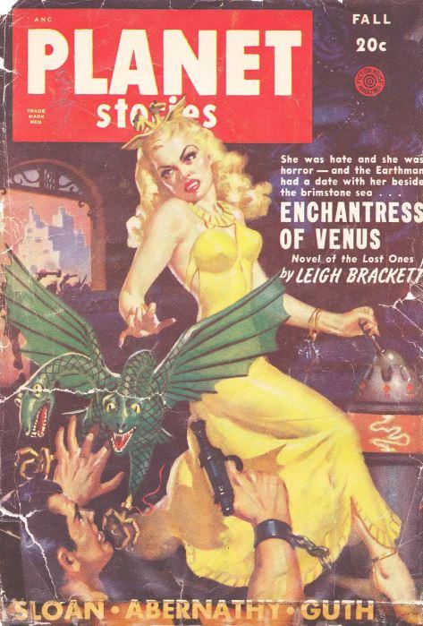 Planet Stories Pulp Fiction Magazine