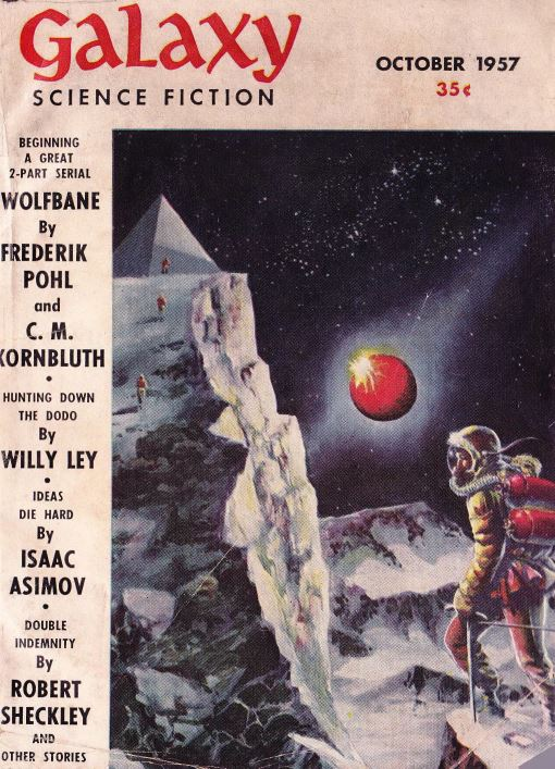 Galaxy Pulp Fiction Magazine