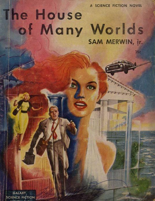 Galaxy Novels Pulp Fiction Magazine