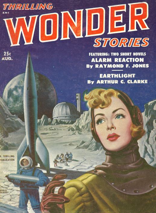 Thrilling Wonder Stories Pulp Fiction Magazine