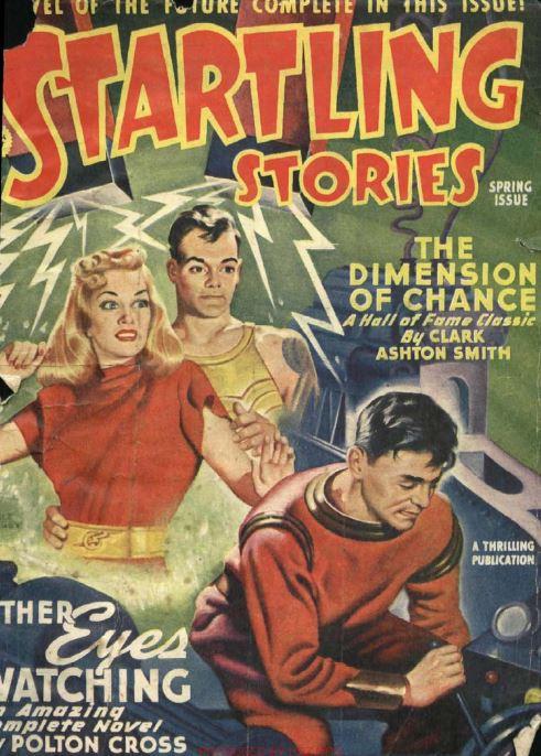 Startling Stories Pulp Fiction Magazine