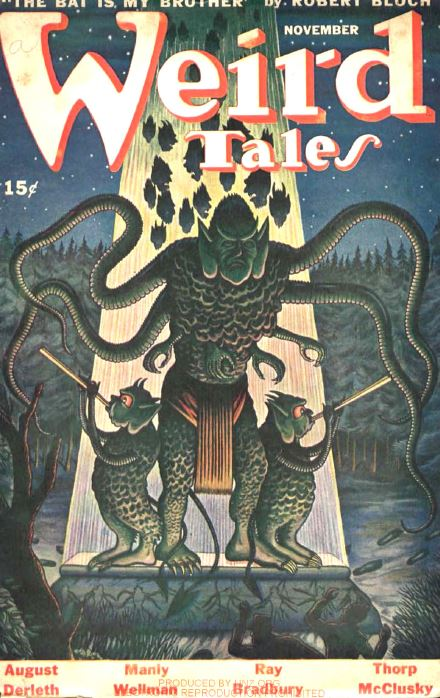 Weird Tales Pulp Fiction Magazine