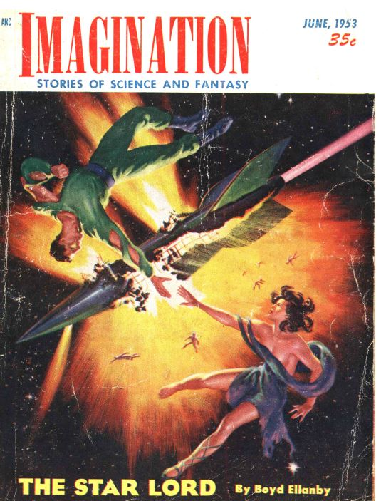 Imagination Pulp Fiction Magazine