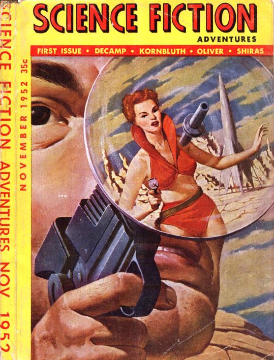 Science Fiction Pulp Fiction Magazine