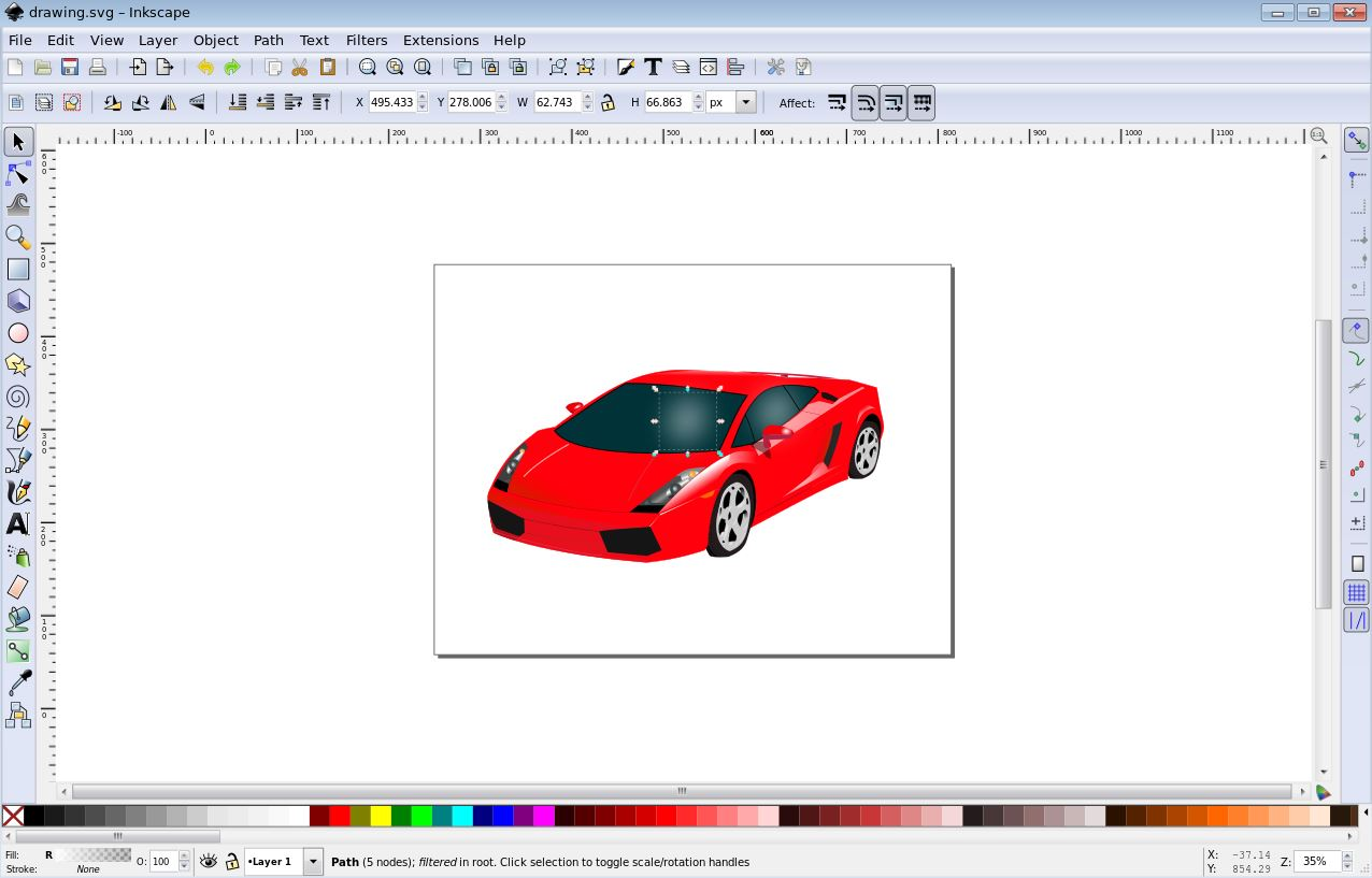 Vector Graphics Illustrator Pro Inkscape Drawing And