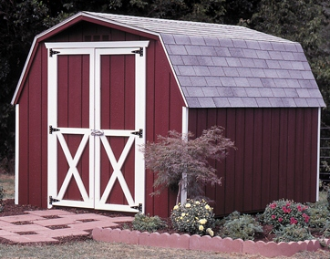Custom Gambrel Shed Plans, 8 x 12 Shed, Detailed Building Plans