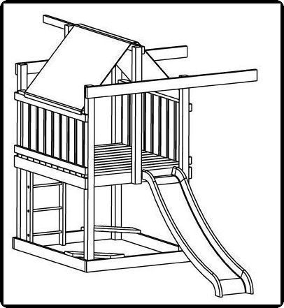 basic jungle gym plans