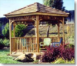 Custom Gazebo Plans, 10 ft Square, Hip Roof Gazebo Plans