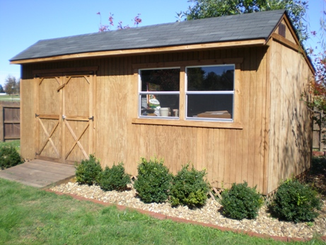 Custom Saltbox Shed Plans, 10 x 20 Shed, Detailed Building Plans