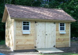 Wonderful Custom Gable Shed Plans, 12 X 12 Shed, Detailed Building Plans
