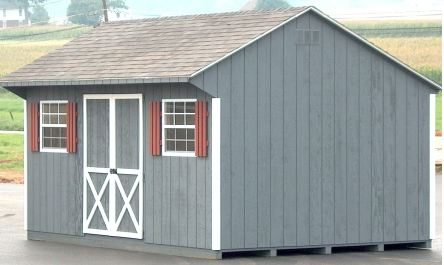 Custom Saltbox Shed Plans, 12 X 16 Shed, Detailed Building Plans