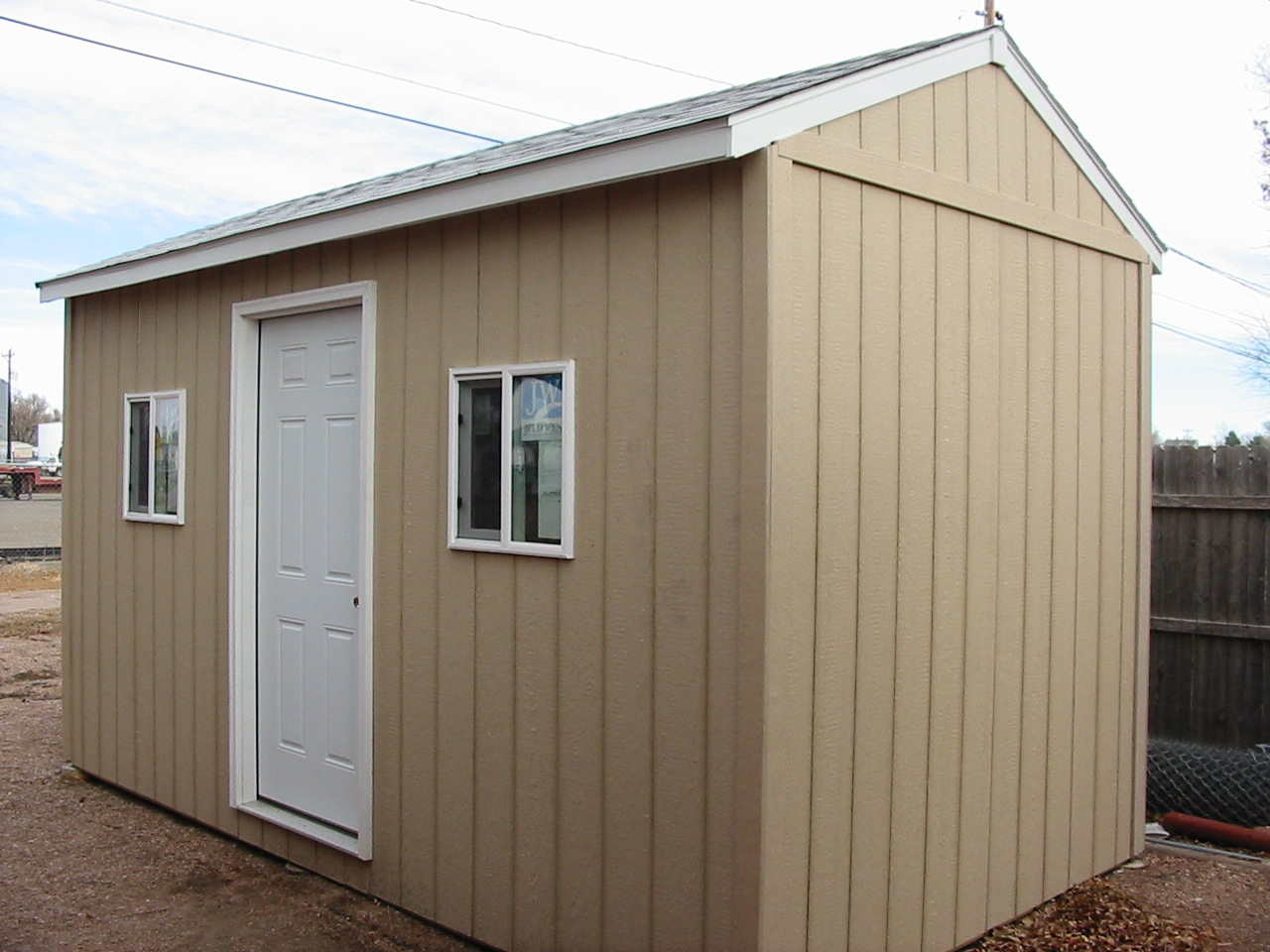 Custom Gable Shed Plans, 8 x 12 Shed, Detailed Building Plans